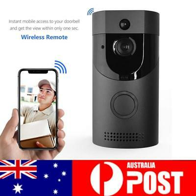 Security Bell Wireless Doorbell Camera WiFi Remote Video Door Intercom IR AU