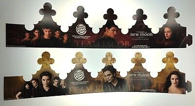 Twilight New Moon Burger King Crown Team Edward Jacob SDCC Exclusive