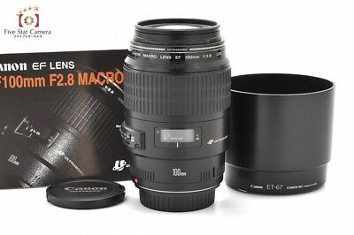 Excellent!! Canon EF 100mm f/2.8 MACRO USM from Japan