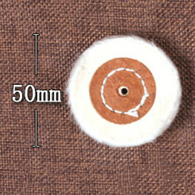 Cloth Polishing Buffing Wheel Cleaning Pad Angle Bench Grinder Tool 50mm(2inch)