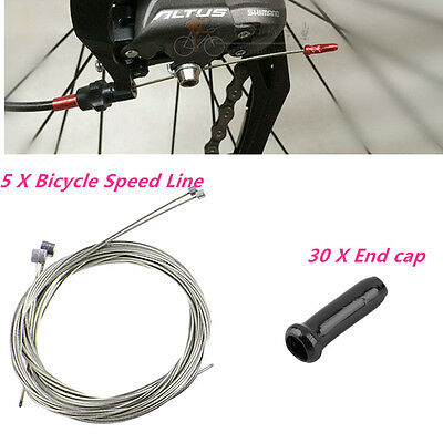 5 x Cycling Bicycle Bike Gear Shift Cable Core Wire Transmission Speed Line G7
