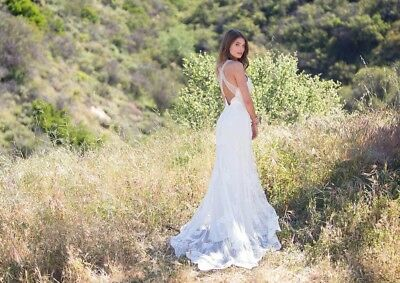 Claire Pettibone Carmel Wedding Dress Size 4