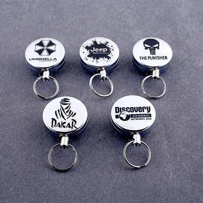 BE57 Telescopic Anti-theft Keychain With Keyring Key Chain High Quality Set*