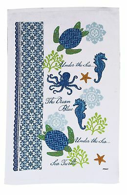 Kay Dee Designs Sea Turtle Terry Kitchen Towel One Size