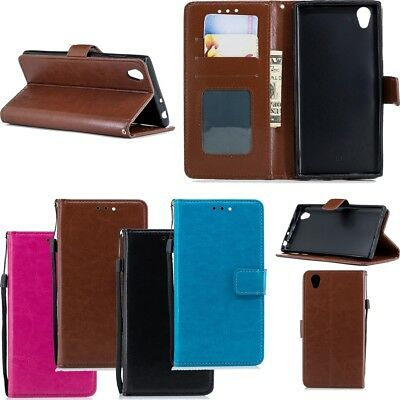 Flip Wallet PU Leather Stand Phone Case Cover for Samsung Xiaomi Huawei P20 ASUS