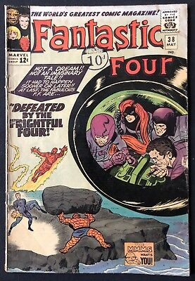 Fantastic Four #38 Kirby 1965 Good Condition