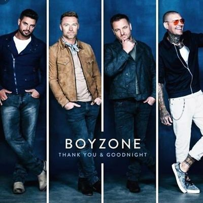 Boyzone Thank You and Goodnight CD