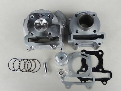 EGR STYLE 50CC SCOOTER GY6 139QMB ENGINE COMPLETE CYLINDER HEAD W// VALVES