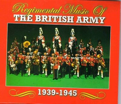 """Regimental Music of The British Army"" TRCD 252 [3 CD Set]"