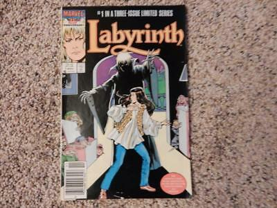 Labyrinth #1 Marvel Comics 1986 First In A Three-Issue Linited Series Vf