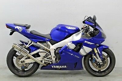 2000 Yamaha Yzf R1 Damaged Spares Or Repair **no Reserve** (17377)