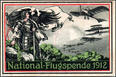 Manifestazione Aerea - Germania - National Flugspende 1912 - fp nv