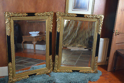 TWIN large antique mirrors used