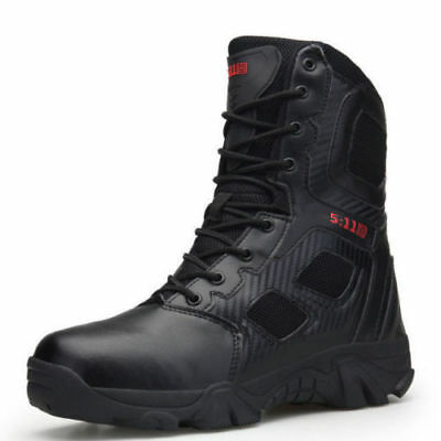 Men's Light High Top Shoes Running Sneakers Fashion Tactical boots