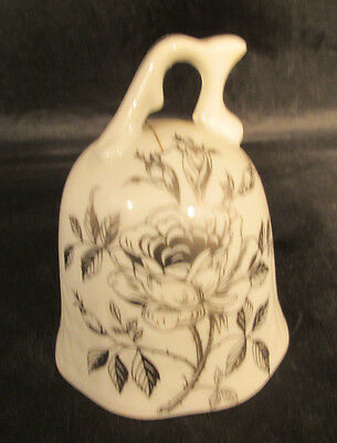 "Norcrest 25th Anniversary 3"" Porcelain bell"
