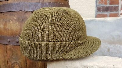 "Jeep cap ""Beanie"" - US ARMY WW2 (matériel original)"
