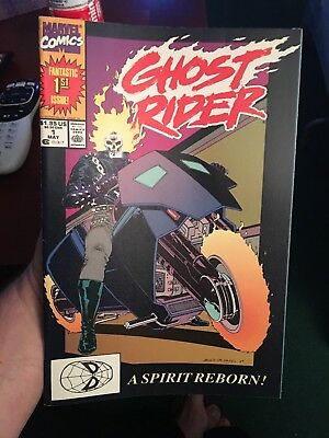 Ghost Rider #1! Volume 2! 1990! In VF/NM Condition! LOOK! WOW!
