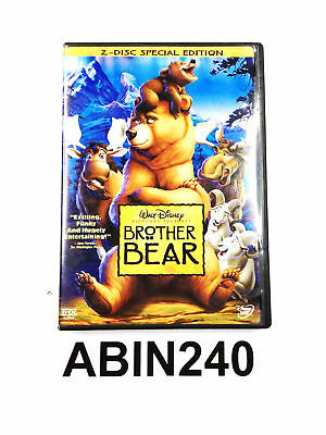 Walt Disney Brother Bear 2 Disc Exiting Funny And Hugely Entertaining DVD