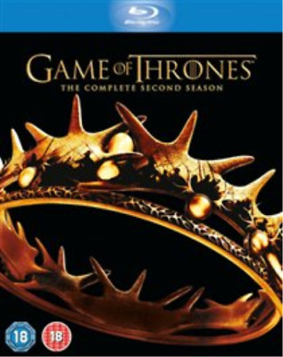 Lena Headey, Peter Dinklage-Game of Thrones: The Complete Second Sea Blu-ray NEW