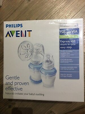 Philips Avent Manual Breast Pump And storage System
