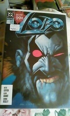 Lobo #1A, first printing, DC, 1990, VF-