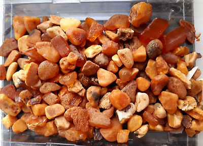 100+ grams Rare Baltic Amber Natural Antique Butterscotch raw rough stones Lotf3