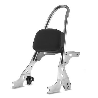 Sissy Bar d/étachable CSL pour Harley Sportster 883 R Roadster 04-15 inox