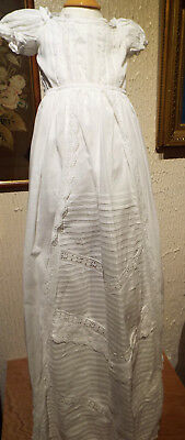 Christening Gown/unusual Front