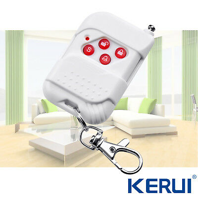 KERUI  433Mhz Wireless remote controller 12V battery Home Securtity Alarm System