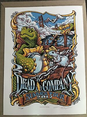 2017 Dead & Company Summer Tour poster.