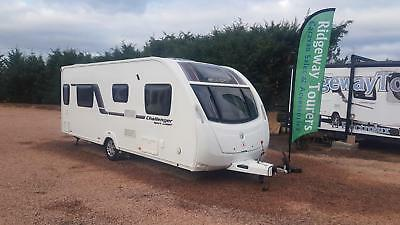 Swift Challenger Sport 584 2014 Transverse Fixed Island Bed,Motor Mover & More