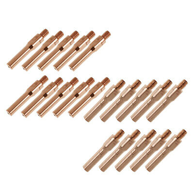 20PCS 45mm Welding Contact Nozzle Tip for Gas Shielded Welder 1.4+1mm Weld