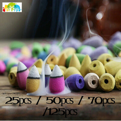 50Pcs Household Natural Reflux Tower Incense Tea Smoke Backflow Incense Or Gourd
