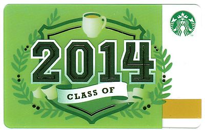 Starbucks Collectible Gift Card - Class of 2014 - Graduation Coffee Gift Card