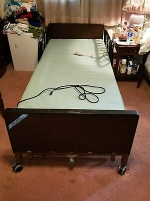 NEW Full Electric Hospital Bed Package COMPLETE WITH MATTRESS SIDE RAIL & FRAME