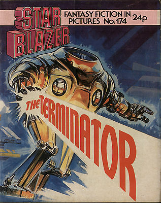 The Terminator,starblazer Fantasy Fiction In Pictures,no.174,1986