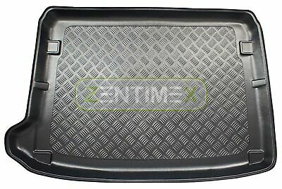 Corrugated Boot Mat Trunk Liner for Citroen DS4 Urban Show Pre-Facelift hatchbac