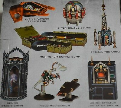 40K Tactical Objectives Sector Imperialis Warhammer Space Marines Tyranids NEW!