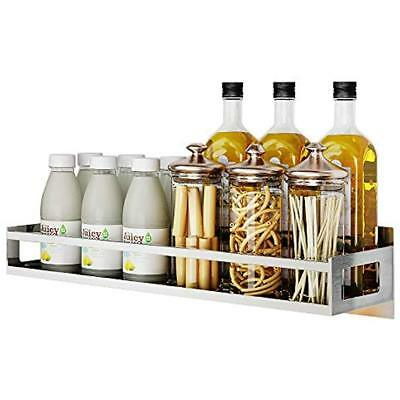 Wall Spice Racks Mount Organizer, Kitchen Seasoning Hanging For Pantry Herb Jar