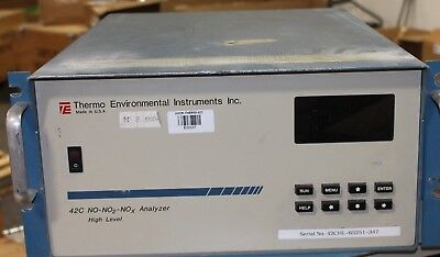 THERMO ENVIRONMENTAL INSTRUMENTS 42C NO-NO2-NOx Analyzer HIGH LEVEL