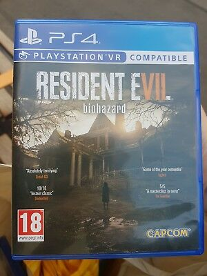 Resident Evil 7 Biohazard (Sony PlayStation 4 2017) - UK Version USED Excellent