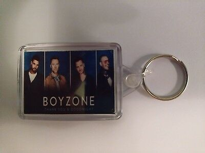 Boyzone thank you and goodnight Keyring