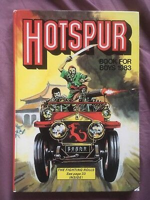 Hotspur Book For Boys Annual (1983) *** Unclipped ***