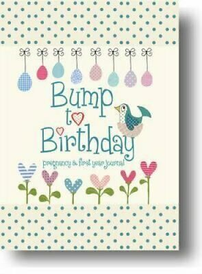 Bump to Birthday, Pregnancy & First Year Journal by from you to me 978190704