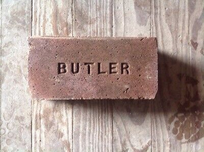 Antique Brick Stamped  *** Butler  ***