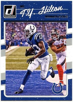 T.Y. Hilton - Indianapolis Colts #127 Donruss 2016 NFL Panini Trade Card (C2366)