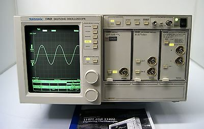 Tektronix  11401  Oscilloscopio Digitale  500 Mhz