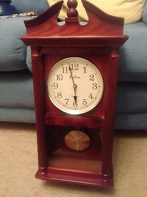 Bentima Chiming Clock In Rosewood Efect