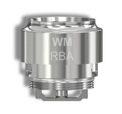 Wismec® WM-RBA | Rebuildable Coil | RX GEN 3 GNOME EVO | Authentic | UK STOCK