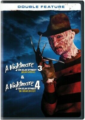 Nightmare On Elm Street 3-4 [New DVD] 2 Pack, Eco Amaray Case